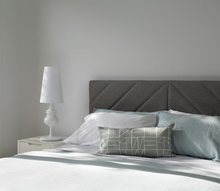 Soft colours and clean lines look wonderful in this Fasham bedroom.