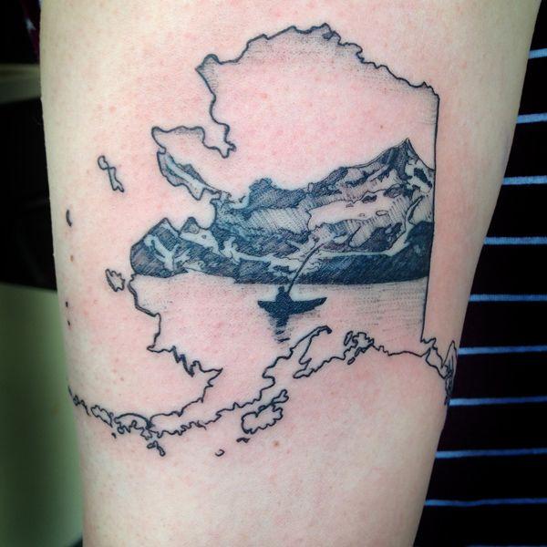 single bg alaska kayak mountain tattoo Justin Turkus Philadelphia Artist Dakini web.jpg