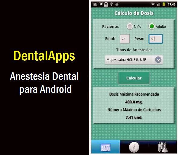 DentalApps: Anestesia Dental para Android | OVI Dental