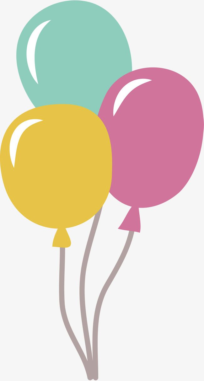 vector png balloon color balloon three balloons balloon cartoon rh pinterest com cartoon balloon template cartoon balloon template