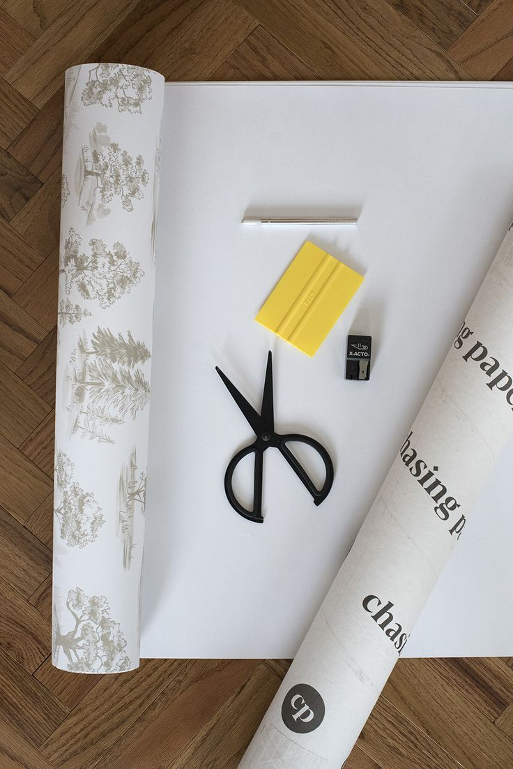 How to Install Peel-and-Stick Wallpaper - Room for Tuesday ...