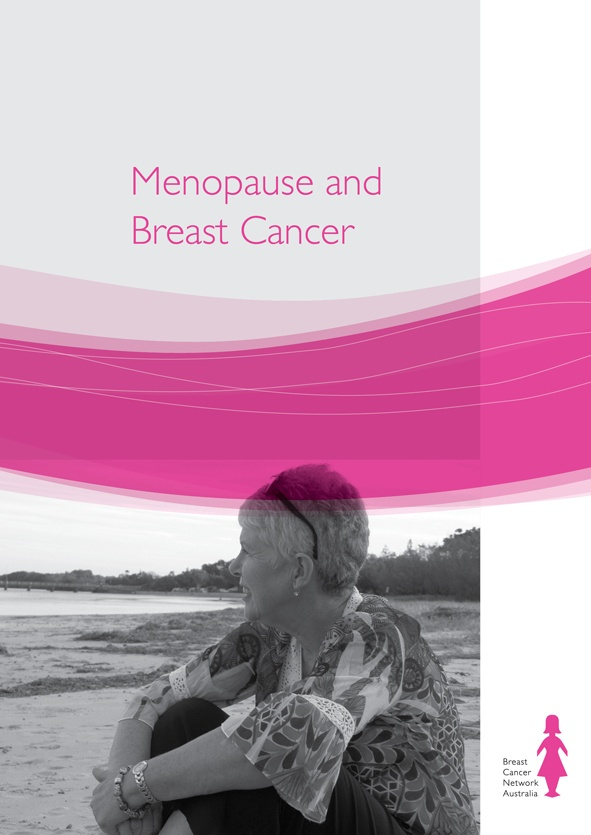 BCNA's Menopause and breast cancer booklet is for women experiencing menopausal symptoms as part of their breast cancer treatment.