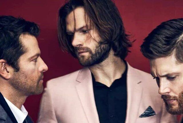 Another picture of Jared, Jensen & Misha in Rogue magazine . . . . Cr: @roguemagazine .