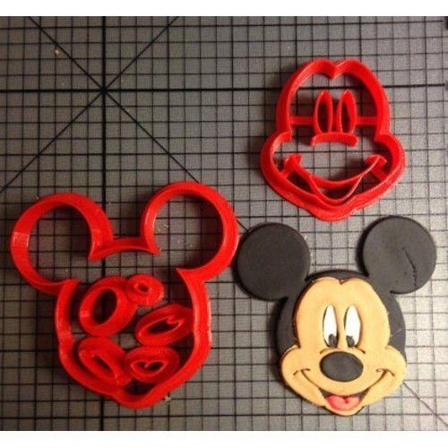 Koekjes uitsteker Mickey Mouse Ø50mm 6-delig