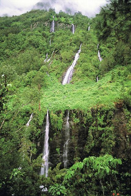 """Chemin des Pommes Cannelle - Cascades du """"Voile de la Mariée"""" - La Réunion"""