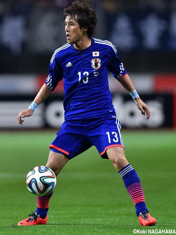 Hajime Hosogai - MF - #13 Japan vs. Jamaica KIRIN CHALLENGE CUP DENKA BIG SWAN STADIUM 2014-10-10
