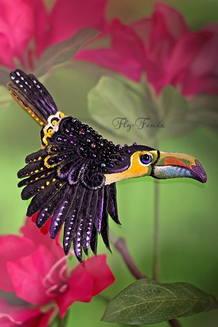 Очаровательные птицы-брошки / Украшения и бижутерия / Своими руками - выкройки, переделка одежды, декор интерьера своими руками - от ВТОРАЯ УЛИЦА