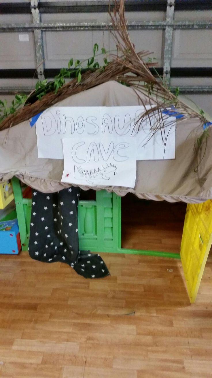 Everyone needs a dinosaur cave