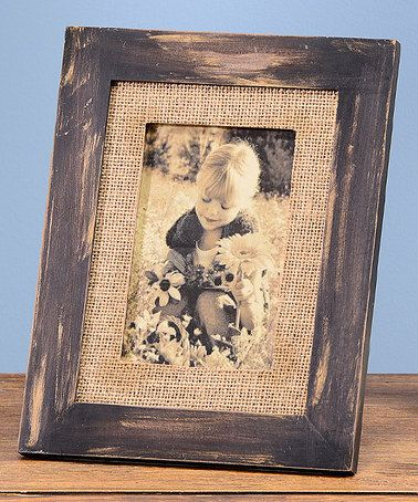 Another great find on #zulily! Rustic Photo Frame #zulilyfinds