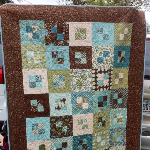 Quilt I Made My Sister Out Of Cherish Jelly Roll Pattern