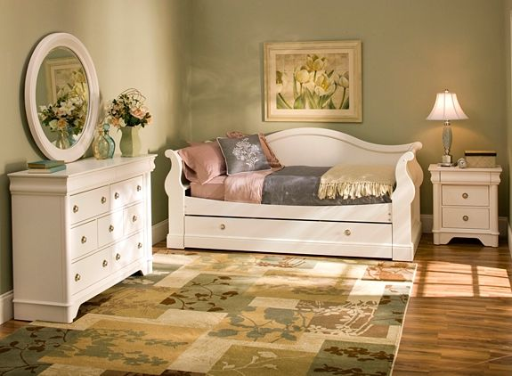 Charlie Daybed W/ Trundle | Daybeds | Raymour And Flanigan Furniture