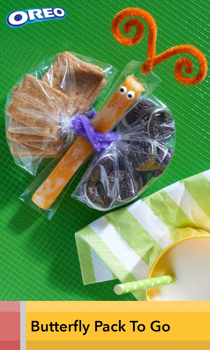 In just 5 minutes you can create this adorable snack that kids will be delighted to find in their lunch. It's also great for class parties and sports games, when it's your turn to bring the treat.