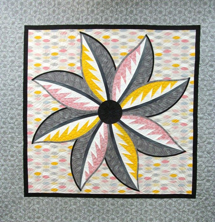 Eight ~Quiltworx.com, made by CI Anne Hall