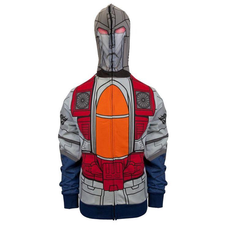 Transformers - Mr. Scream Costume Zip Hoodie