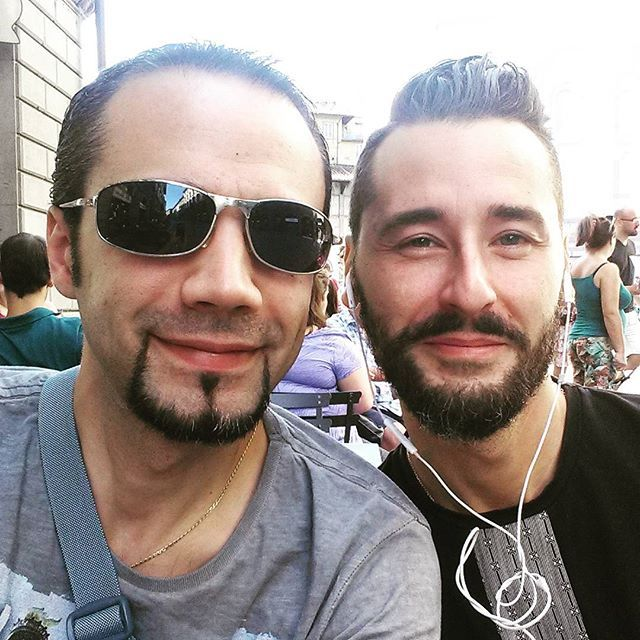 A Firenze col grande amico Jonathan! #firenze #florence #loveitaly #friends #amici #meeting #travelitaly #sunday