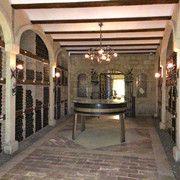 Cellar at Bodegas Muga, Haro Spain