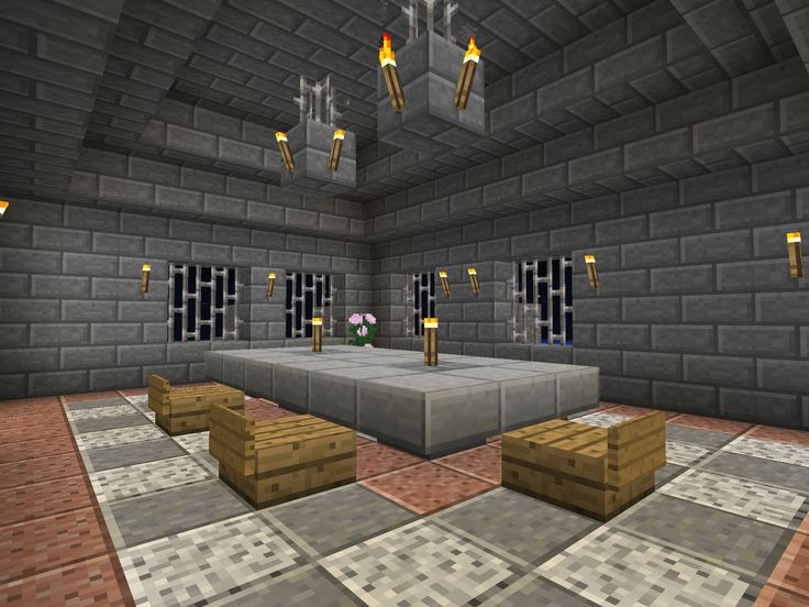 Castle Themed Dining Room · Dining RoomsFunMinecraftCastles