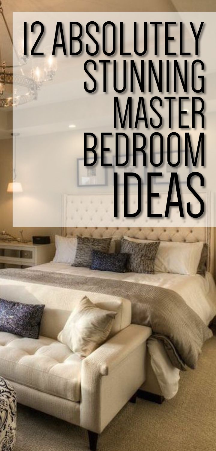 12 Stunning Bedroom Paint Ideas For Your Master Suite: 341 Best Beautiful Bedroom Ideas Images On Pinterest