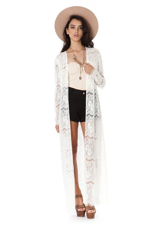 The Wild Long Cardigan  by The Wallflower