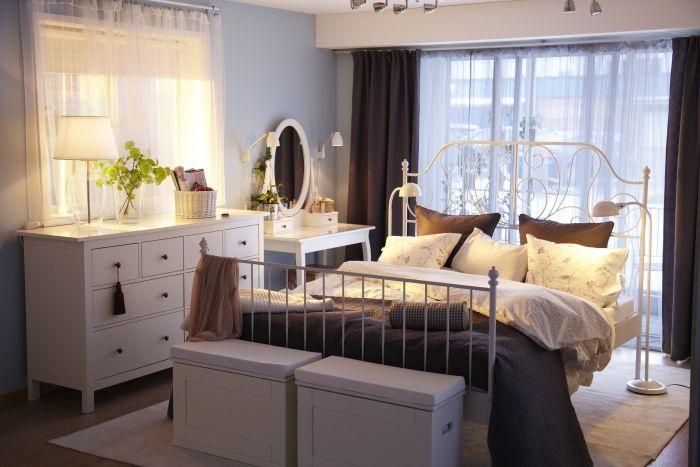 Zor oda planları için alternatif yatak odası çözümleri IKEA'da!