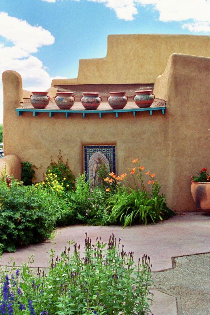 Santa Fe New Mexico Town Square P-39 by freedancer on Etsy https://www.etsy.com/listing/129937197/santa-fe-new-mexico-town-square-p-39