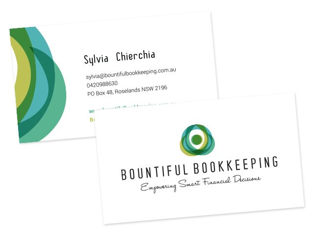 Chic, modern repeated pattern  #business cards #businesscardinspiration