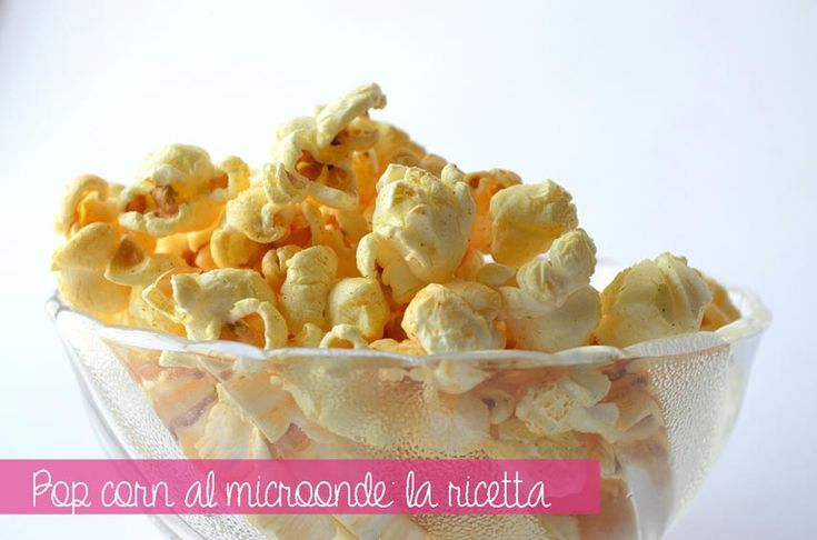 Popcorn light al #microonde