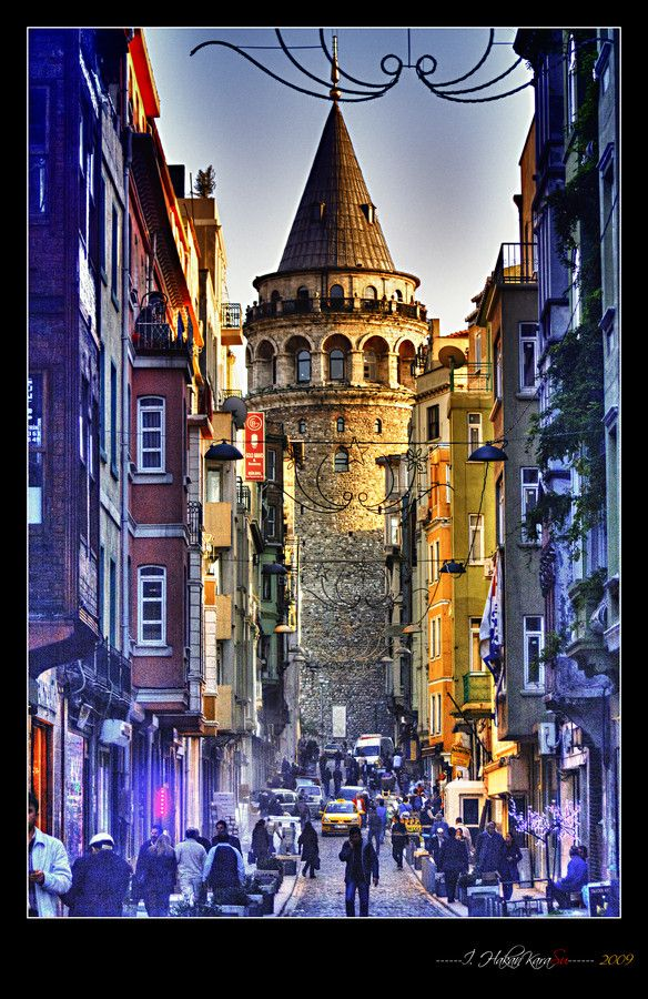 galata tower by Hakan Karasu on 500px