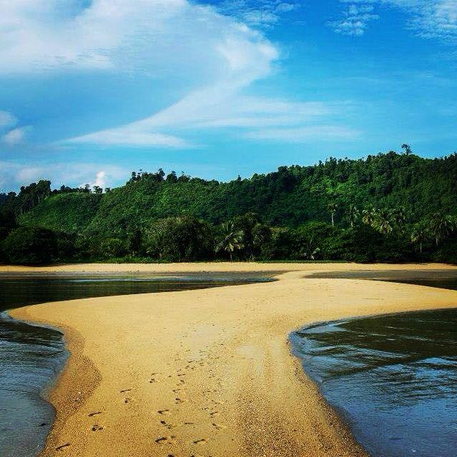 beach Mergui Archipel