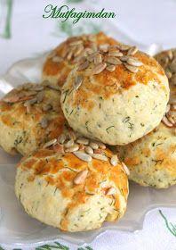 Mutfağımdan: Dereotlu Peynirli Pogaca - Videolu Tarif