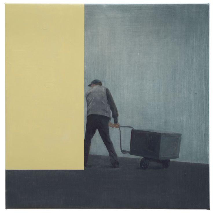 tim eitel(1971- ), barrow, 2013. oil on canvas, 30 x 30 cm. galerie EIGEN+ART http://www.eigen-art.com/index.php?article_id=689=1