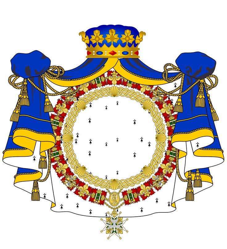 Blason Maison d'Aumont - Louis-Marie-Augustin d'Aumont — 1) L.A. AUGUSTIN D'AUMONT DE ROCHEBARON: Titre: duc d'Aumont (1723-1782). Autre titre: marquis de Villequier .Prédécesseur: Louis Marie d'Aumont de Rochebaron; Successeur: Louis Marie d'Aumont. -Grade militaire: lieutenant-général des armées du roi. Années de service: 1748-1782. Commandement: Gouverneur de Picardie. Distinction: Chevalier du St-Esprit (1745). Autre fonction: Premier gentilhomme de la chambre du roi (1723).