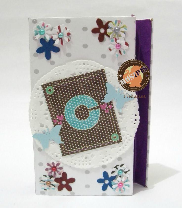Agenda DIY - Colección Shabby Chris - Hoja Postal.