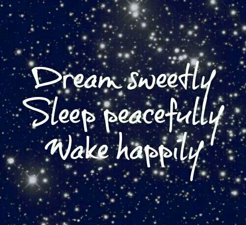 Good night :) ✌
