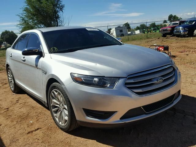 Salvage 2017 Ford Taurus Limited Salvage Car Detailing