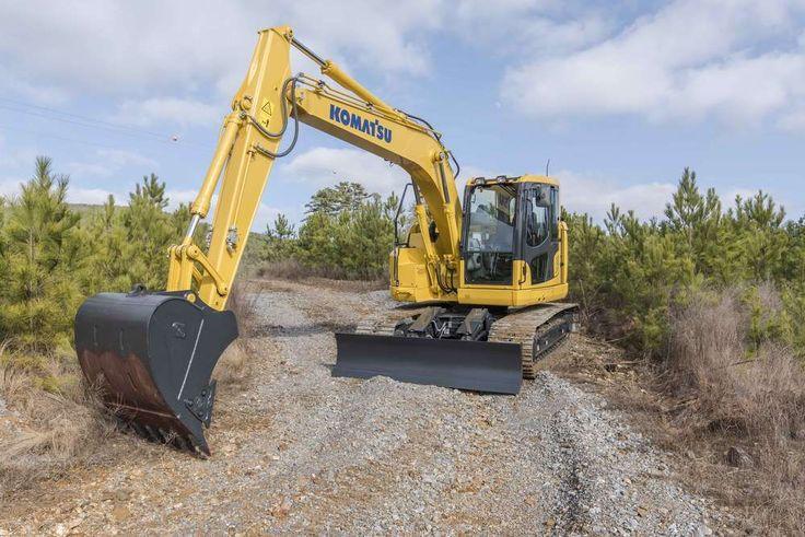Komatsu Introduces the PC138USLC-11 Excavator #heavyequipment #construction