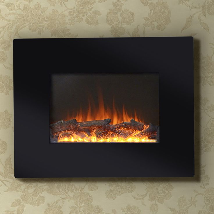 """Flamelux 26"""" Wide Wall Mount Electric Fireplace"""