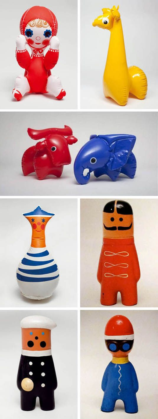 Libuše Niklová was born in 1934 in the Czech Republic.  Her studies of plastic molding led her to Fatra Napajedla where she held the position of designer toys, creating some of her best known work.