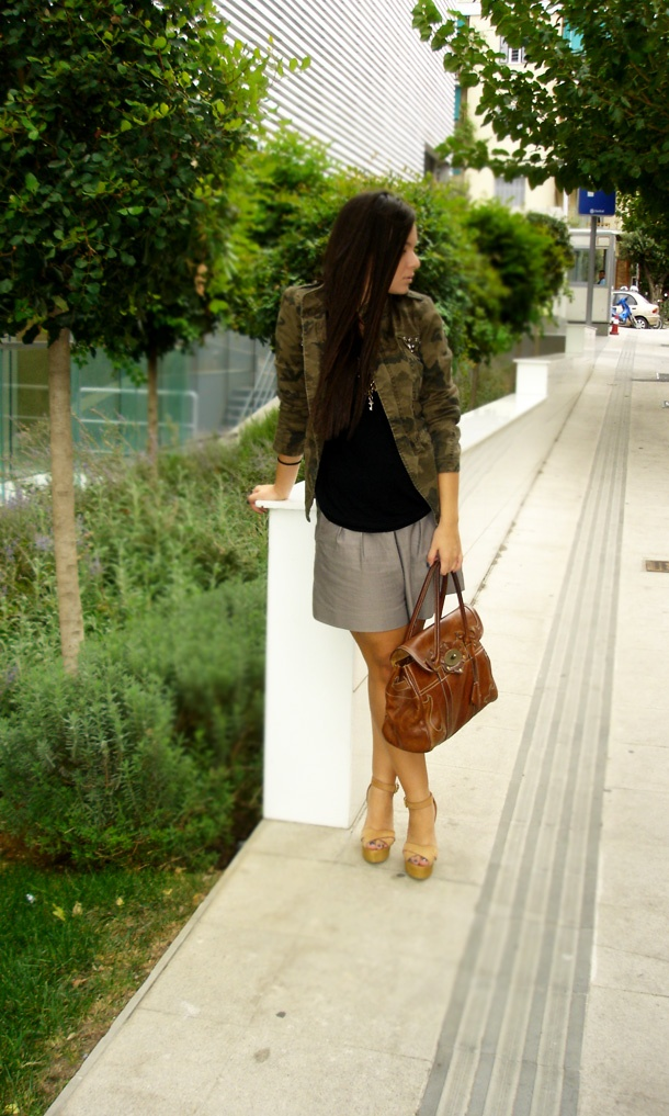 army jacket with wedges! I love it