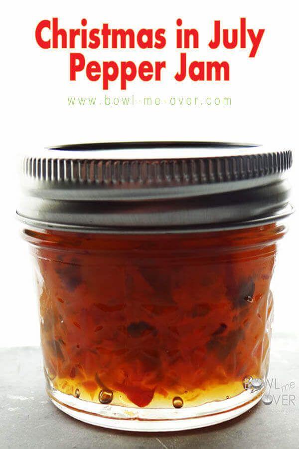 Christmas In July Pepper Jam