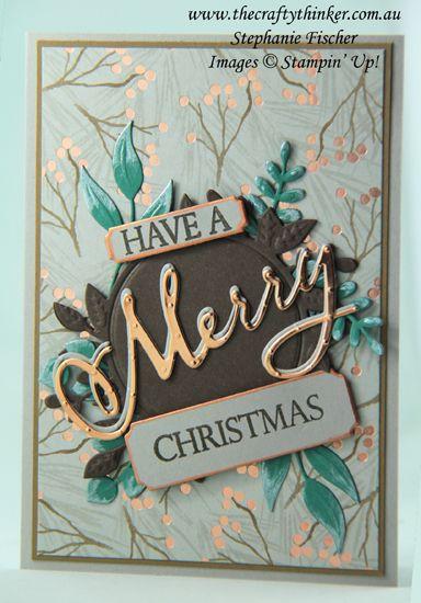 www.thecraftythin …, Joyous Noel, Frohe Weihnachten an alle Bundle, Laub Frames …   – Christmas Cards