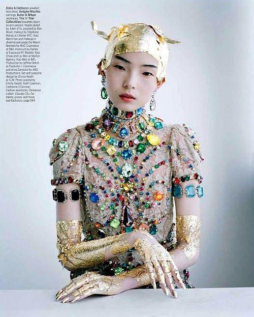 she-loves-fashion: SHE LOVES FASHION: Xiao Wen - W Magazine March 2012 | Costume | Pinterest | Tim walker, Fashion and Editorial fashion