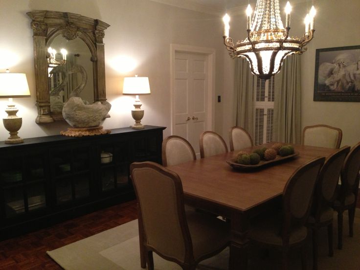 Our dining room in avery gardens jackson mississippi