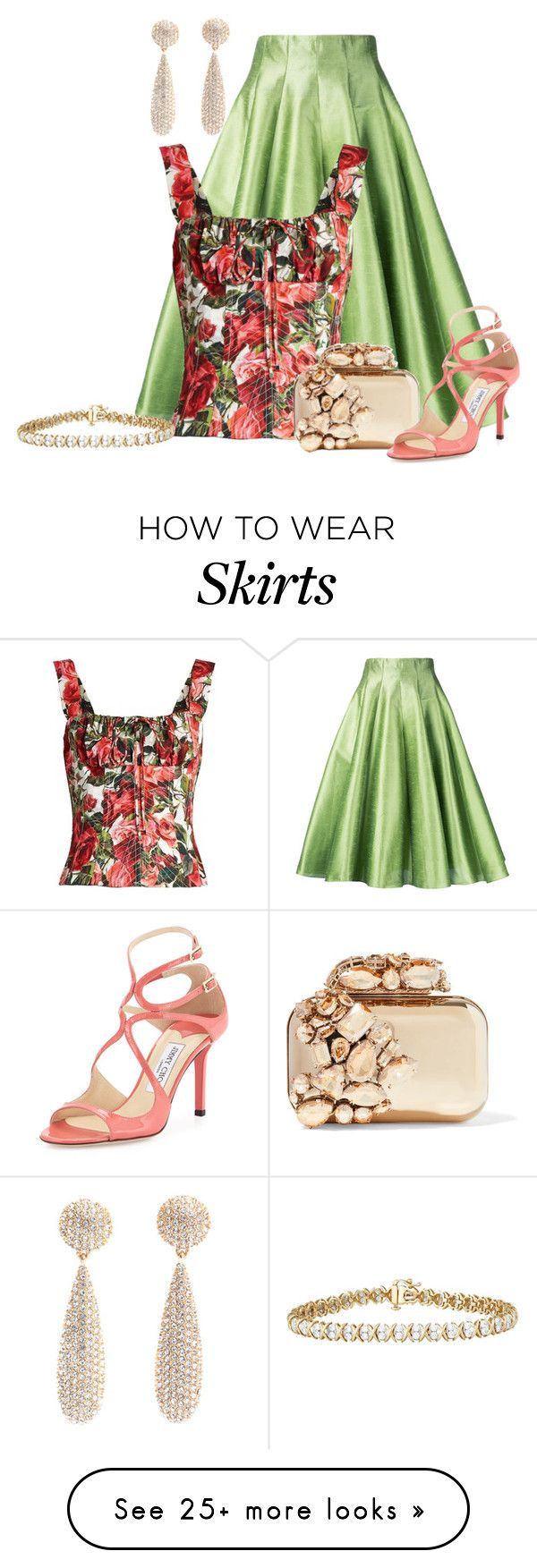 """""""Untitled #2234"""" by anfernee-131 on Polyvore featuring Bambah, Dolce&Gabbana and Jimmy Choo"""