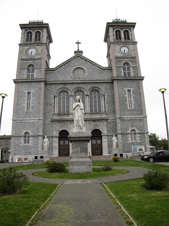 The church my parents were married in. :) The Basilica in St. John's Newfoundland