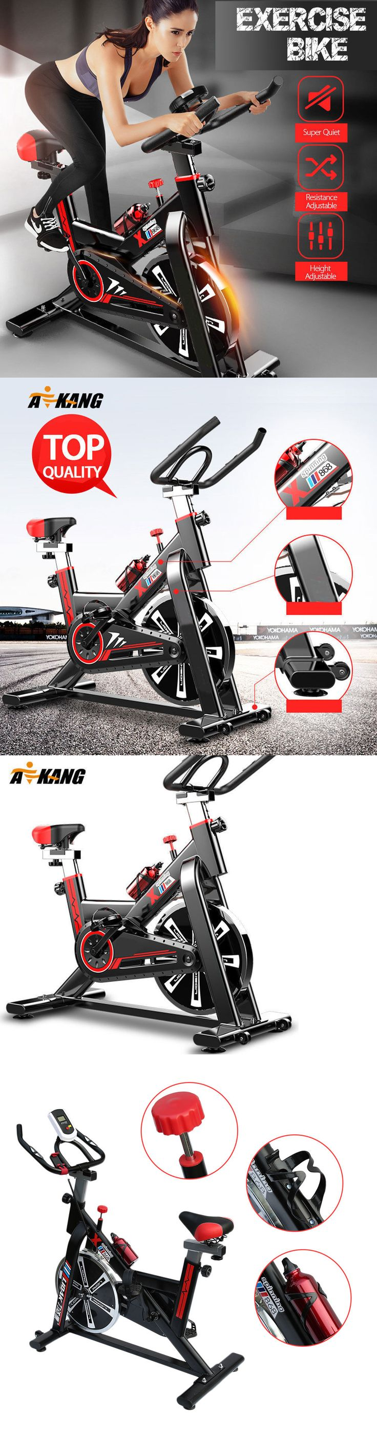 Exercise Bikes 58102: Top Exercise Bicycle Stationary Indoor Bike Trainer Fitness Home Gym Workout Alp -> BUY IT NOW ONLY: $138.95 on eBay!