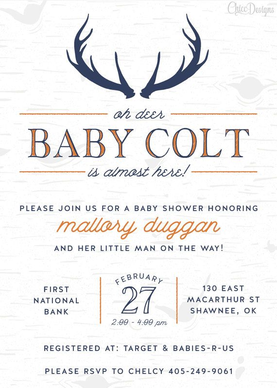 25+ best ideas about deer baby showers on pinterest | woodland, Baby shower invitations