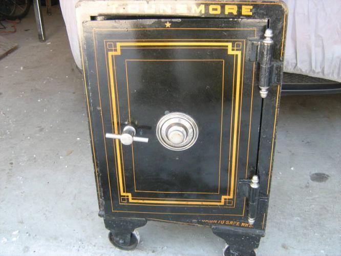 Antique Safe For My Business Pinterest Antique Safe