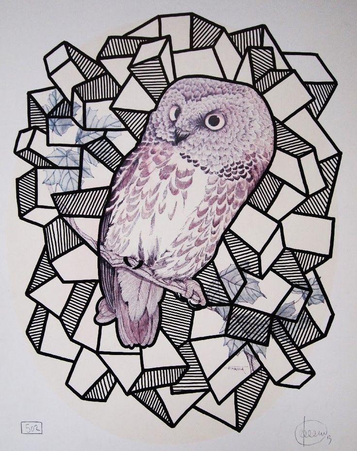'Owl No. 1' by Craig Keenan