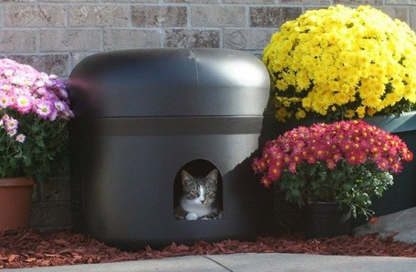 Kitty Tube Insulated Cat House - $105 | Petagadget